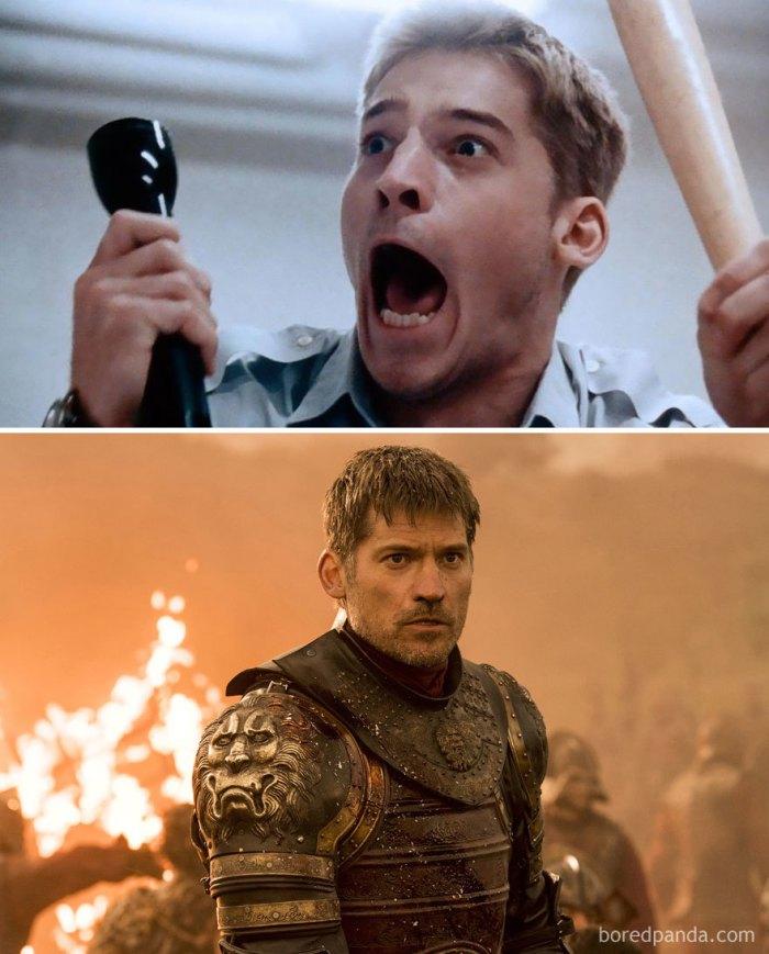 Nikolaj Coster-Waldau as Jaime Lannister (boredpanda.com)