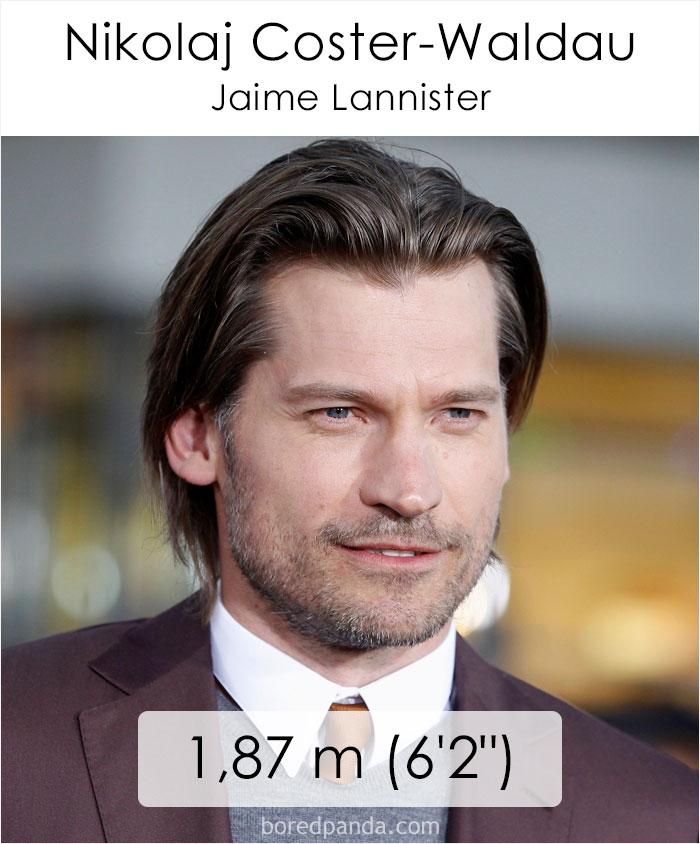 Nikolaj Coster-Waldau/Jaime Lannister (boredpanda.com)