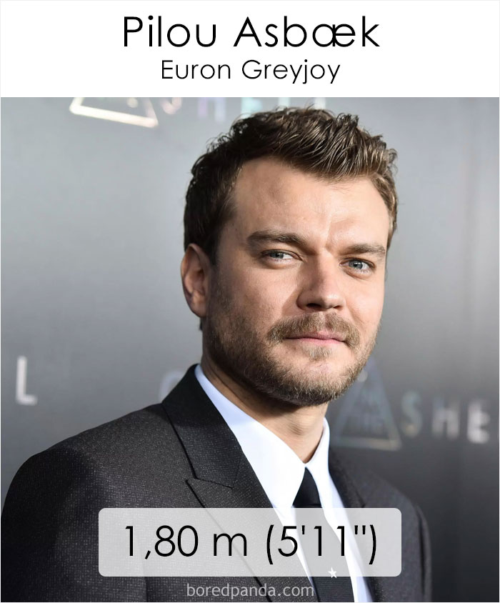 Pilou Asbaek/Euron Greyjoy (boredpanda.com)