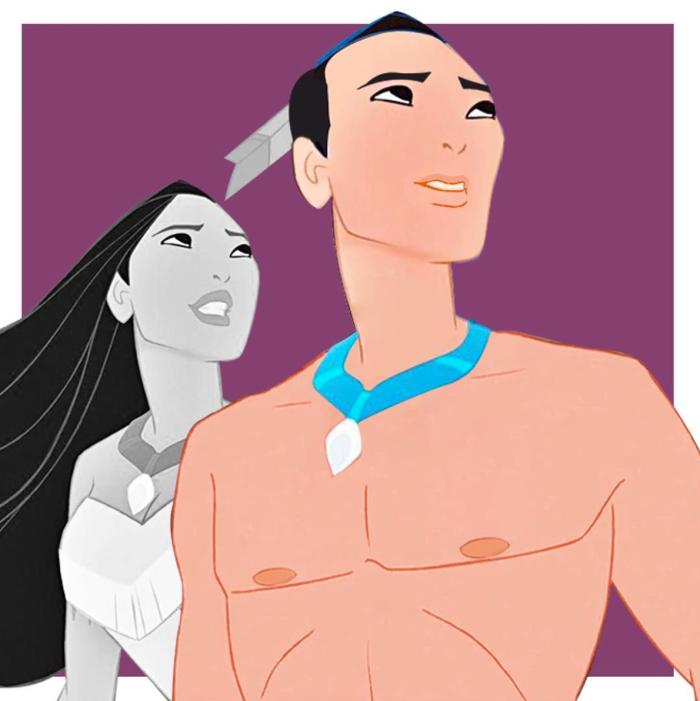 Pocahontas (trans.disney/Instagram)