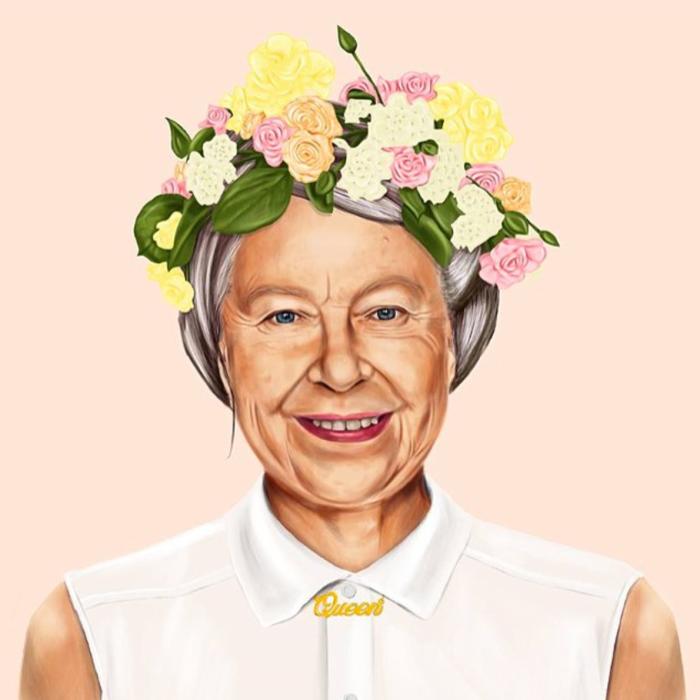 Regina Elisabetta II (Amit Shimoni/Hipstory)