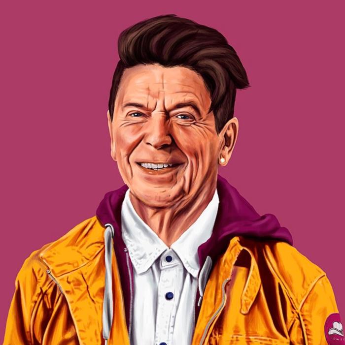 Ronald Reagan (Amit Shimoni/Hipstory)