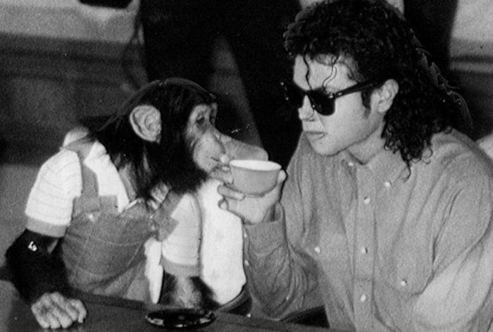 Bubbles e Michael Jackson