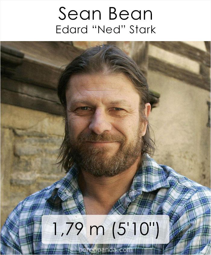 Sean Bean/Edard Ned Stark (boredpanda.com)