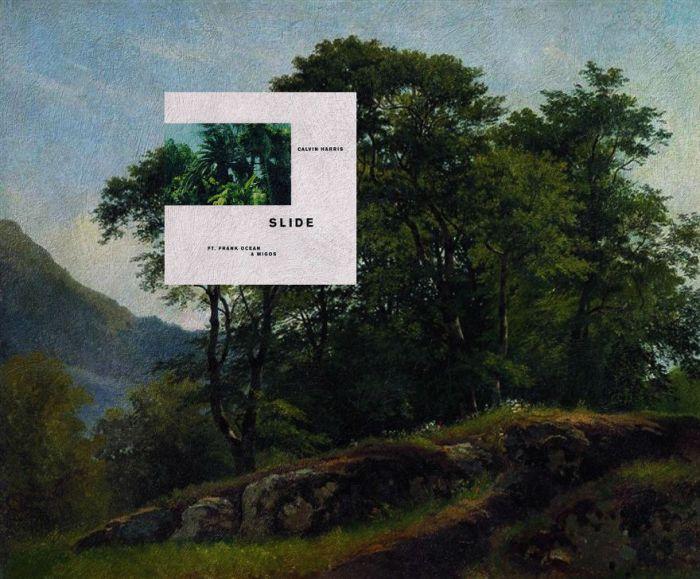 Slide di Calvin Harris feat. Frank Ocean e Migos/Beech forest in Switzerland di Ivan Shishkin (Eisen Bernardo)