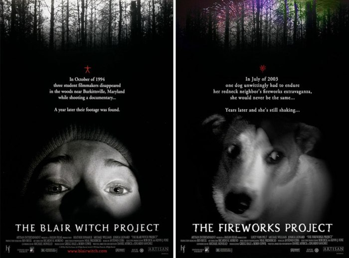 The Blair Witch Project (IamIrene/Imgur)