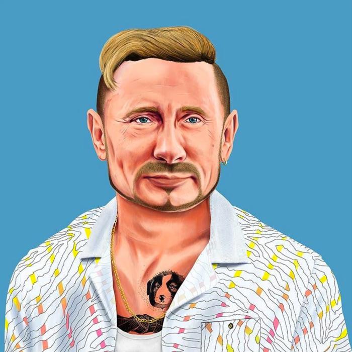 Vladimir Putin (Amit Shimoni/Hipstory)