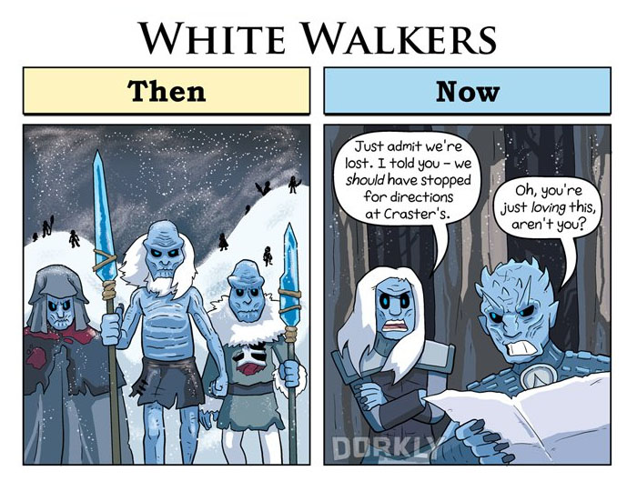 White Walkers (George Rottkamp/Dorkly)