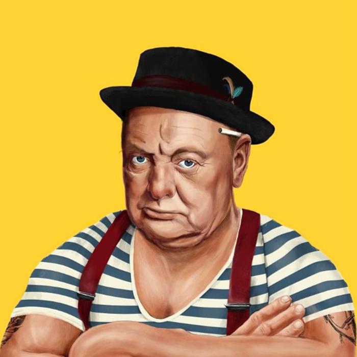 Winston Churchill (Amit Shimoni/Hipstory)