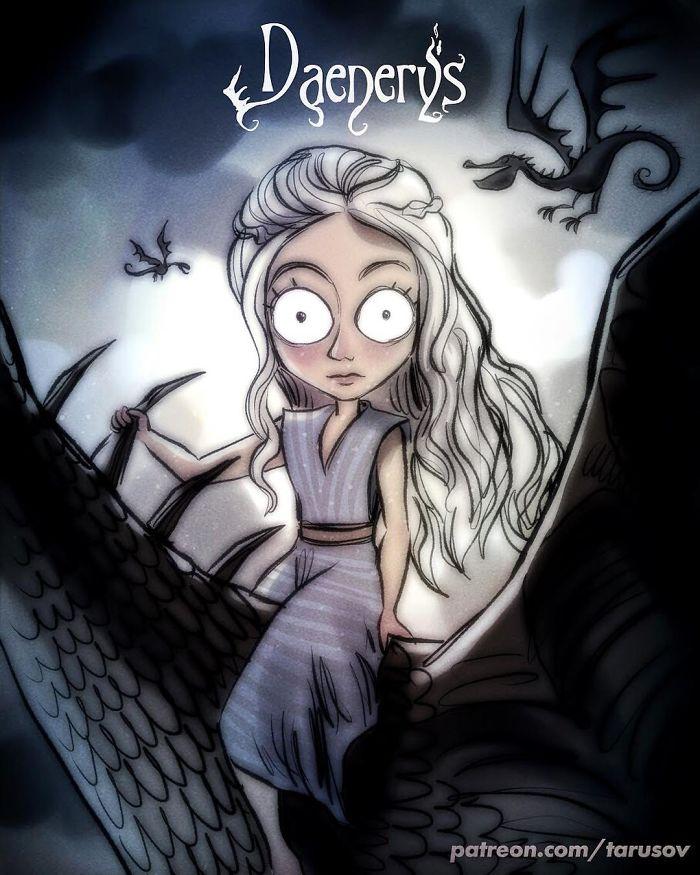 Daenerys Targaryen (Andrew Tarusov)