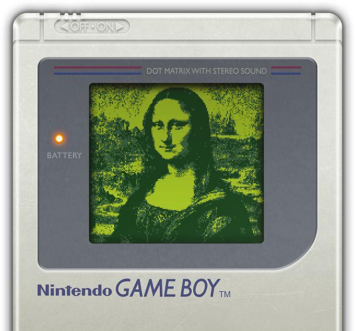Gioconda di Leonardo da Vinci (Gianluca Pirola/gameboyartgallery)