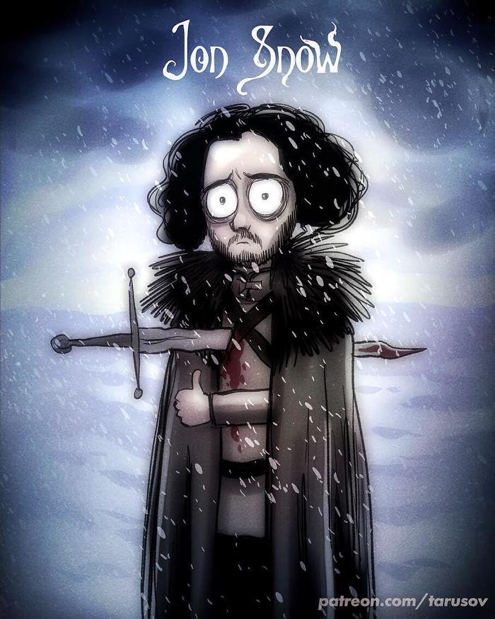 Jon Snow (Andrew Tarusov)