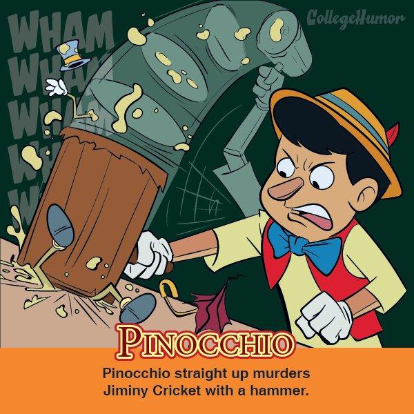 Pinocchio (CollegeHumor)