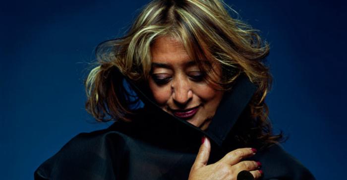 L'architetto Zaha Hadid