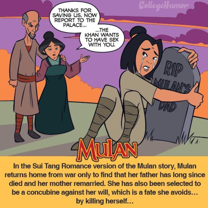 Mulan (CollegeHumor)