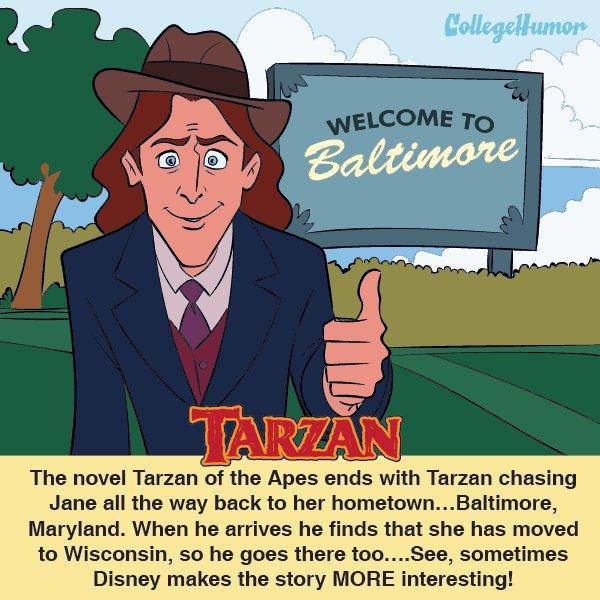 Tarzan (CollegeHumor)