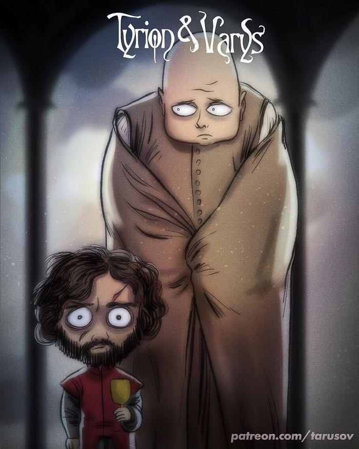Tyrion & Varys (Andrew Tarusov)