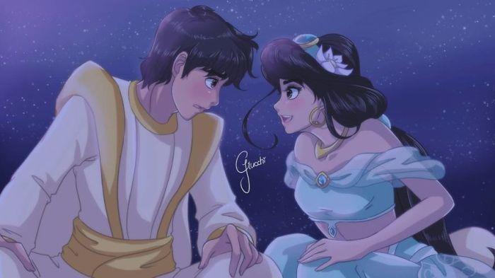 Aladdin e Jasmine (Giulliano Ricchi)