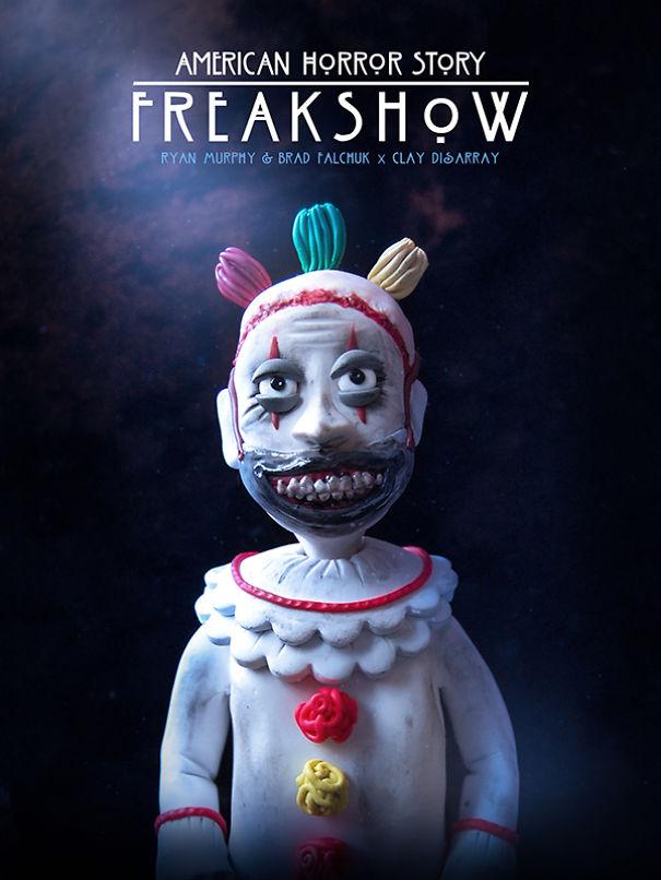 American Horror Story: Freakshow - Ryan Murphy e Brad Falchuk, 2011 (Clay Disarray)
