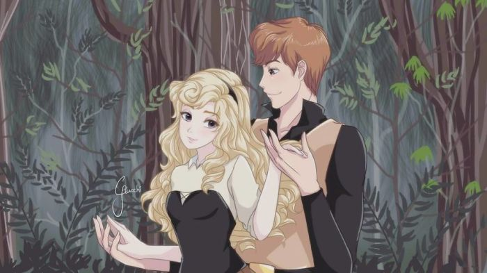 Aurora e Phillip (Giulliano Ricchi)