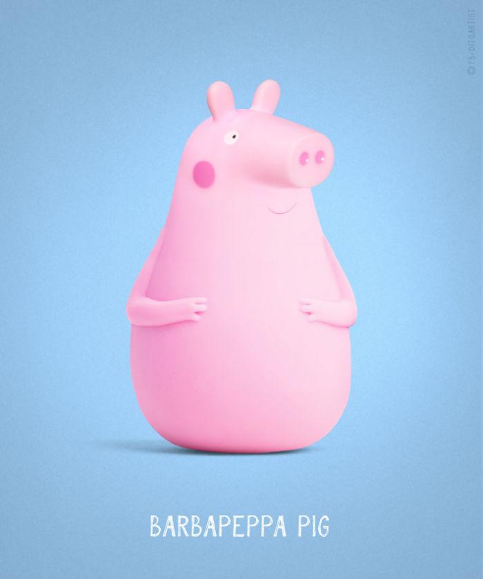 Barbapeppa Pig (Dito von Tease)