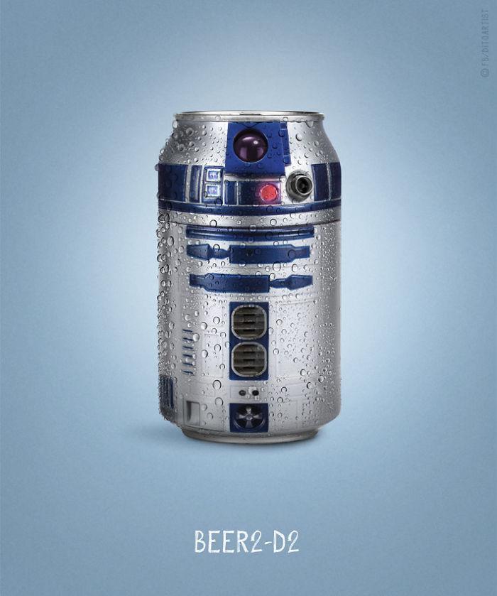 Beer2-D2 (Dito von Tease)