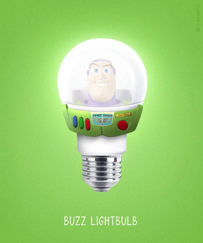 Buzz Lightbulb (Dito von Tease)