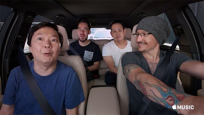 Chester Bennington's Carpool Karaoke (Apple)
