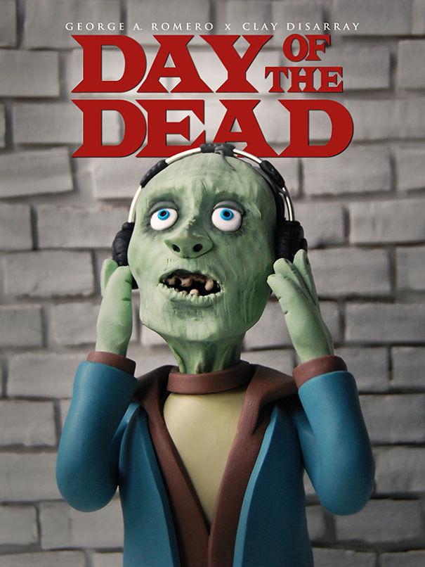 Il Giorno degli Zombie - George A.Romero, 1985 (Clay Disarray)