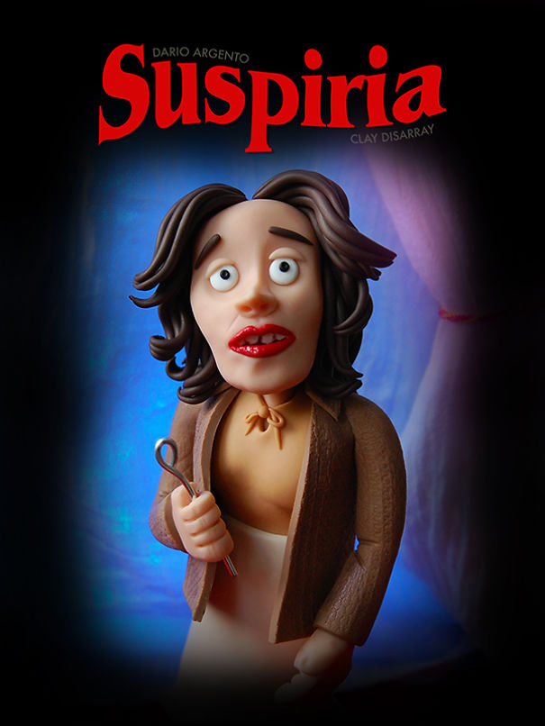 Suspiria - Dario Argento, 1977 (Clay Disarray)