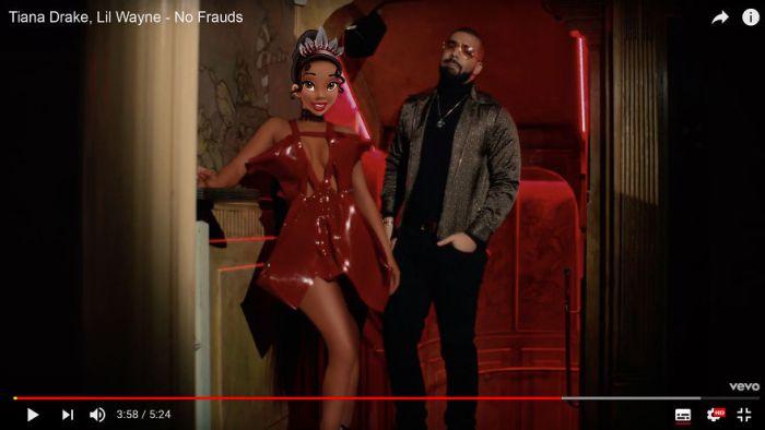 Tiana as Nicki Minaj - No Frauds (Gregory Masouras)
