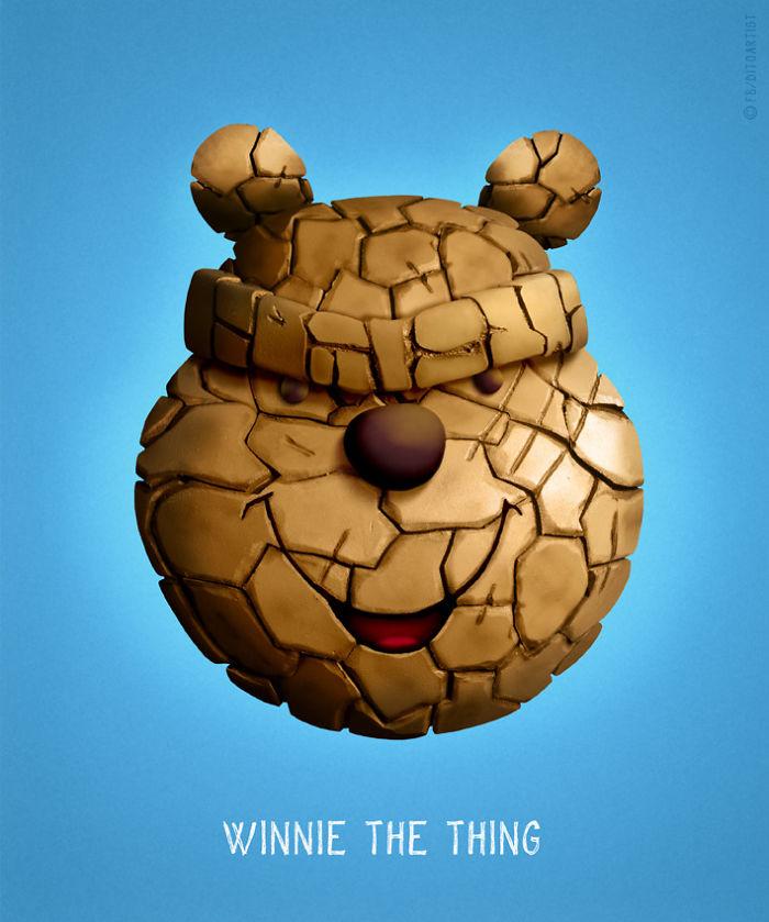 Winnie the thing (Dito von Tease)