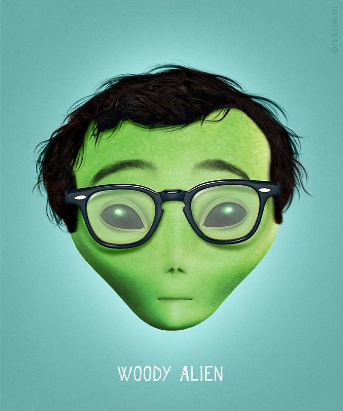 Woody Alien (Dito von Tease)