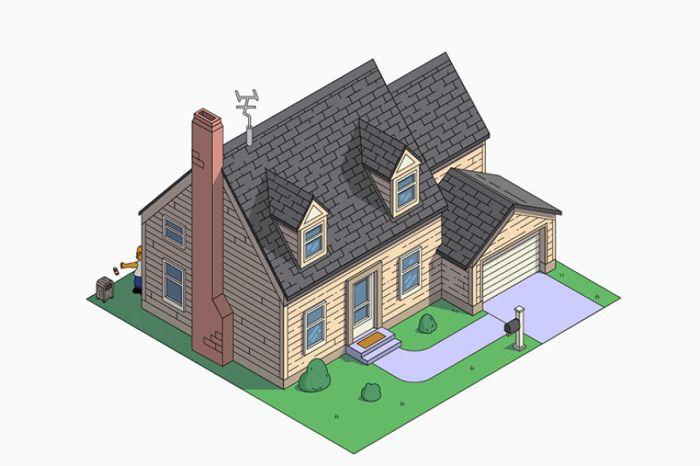 Casa dei Simpson in stile Cape Cod (NeoMam)