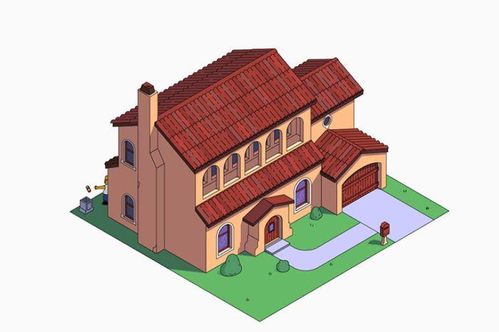 Casa dei Simpson in stile Mediterranean (NeoMam)