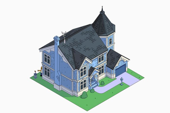 Casa dei Simpson in stile Vittoriano (NeoMam)