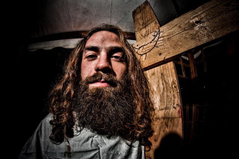 Travestito da Gesù, non il ricercato (Riccardo Meneghini/Flickr CC)