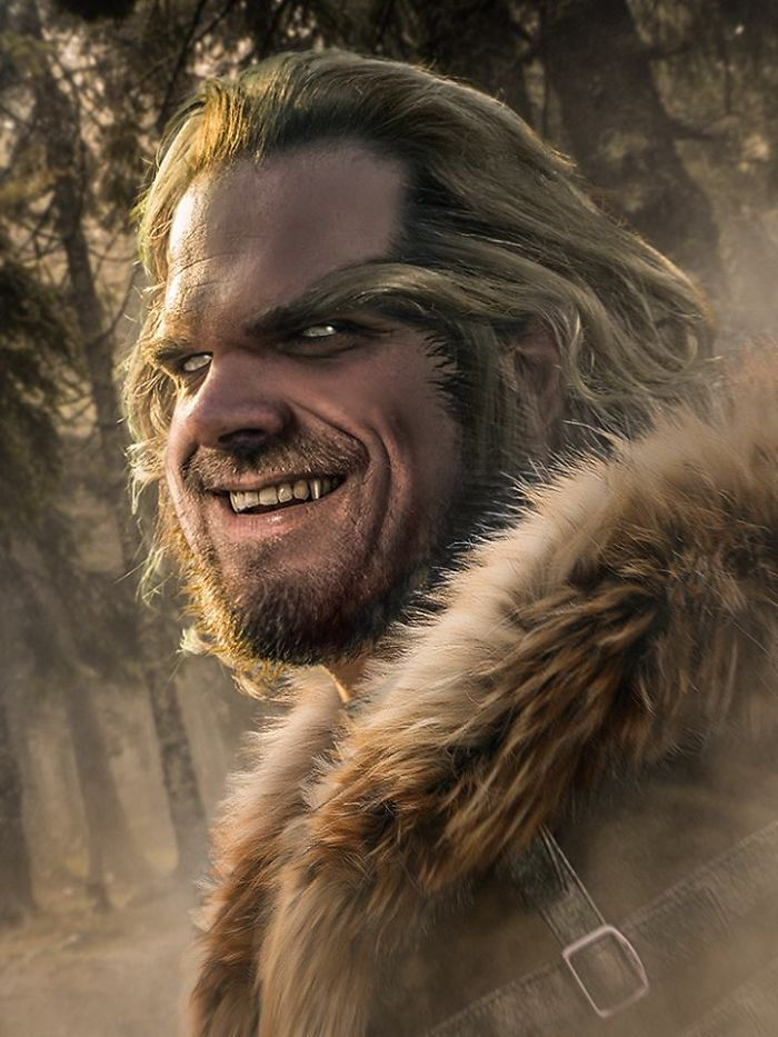 Jim Hopper/Sabretooth (BossLogic)