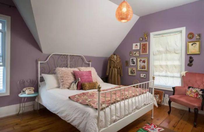 Margot Tenenbaum's bedroom (AirBnb/ARAS Imaging)