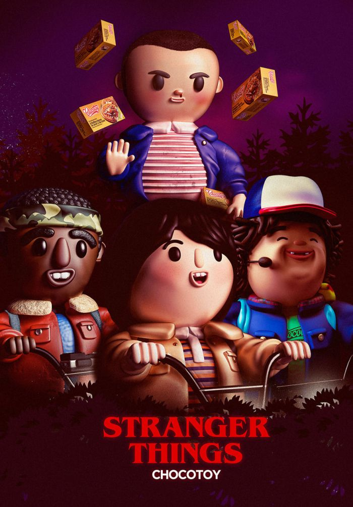 Stranger Things' kids (ChocoToy)