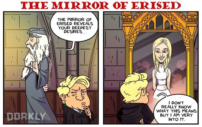 The Mirror of Erised (Dorkly)