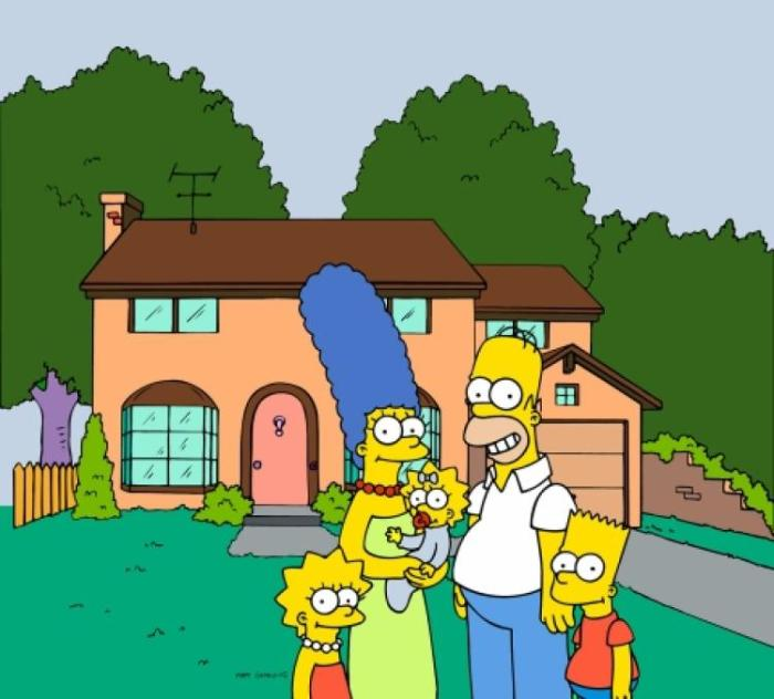 Casa dei Simpson (20th Century Fox)