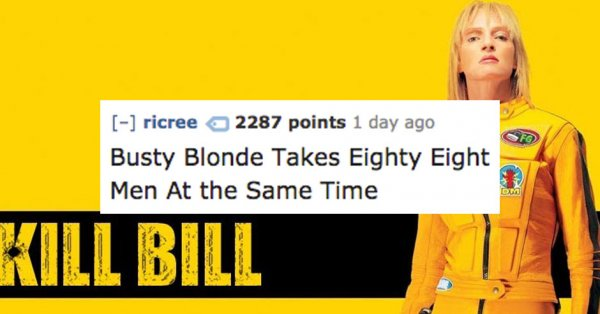 Yellow jumpsuits have never looked hotter (CollegeHumor)