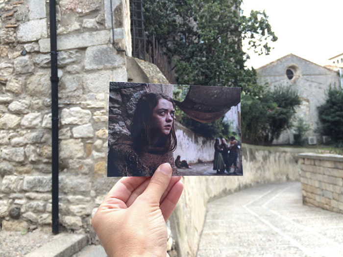 Carrer Del Bisbe Josep Cartana - Girona, Spagna (Andrea David)