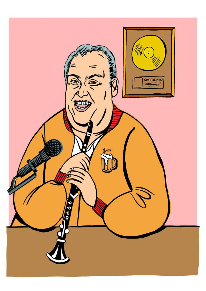 Gus Polinski aka The Polka King of the Midwest (MusicMagpie)