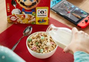 Cereali di Super Mario/Amiibo (Kellogg's/Nintendo)