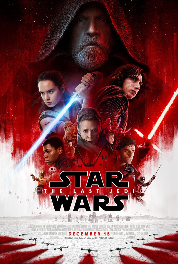 Poster Star Wars: The Last Jedi (Disney/LucasFilm)