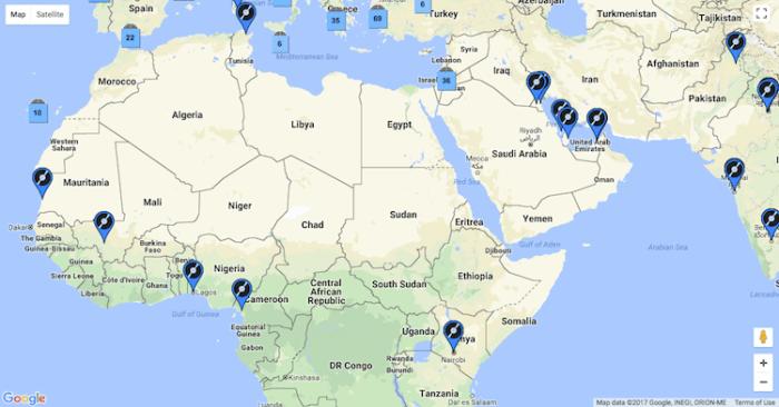 Africa e Medio Oriente (VinylHub)