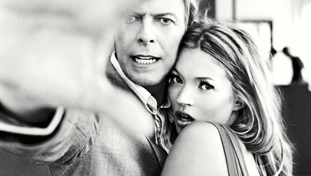 David Bowie e Kate Moss (Ellen von Unwerth)