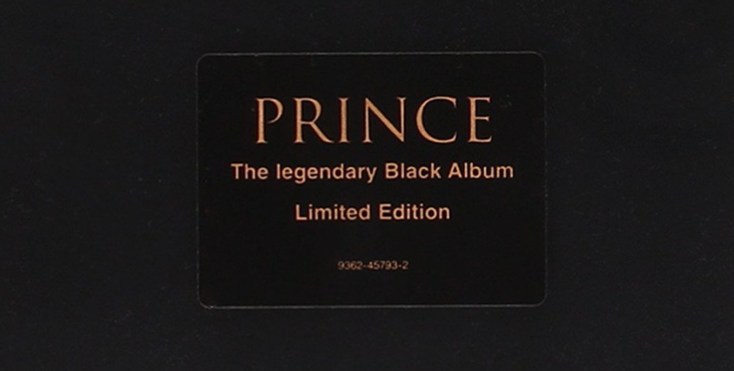 Black Album/Prince (Warner Music)